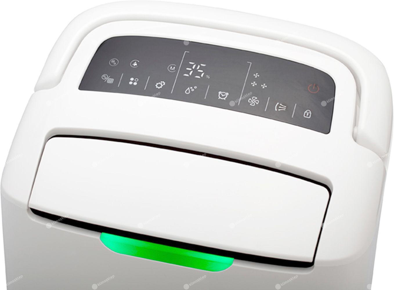 Osuszacz powietrza Wood's AD20G Hybrid - wygodny, intuicyjny panel sterowania