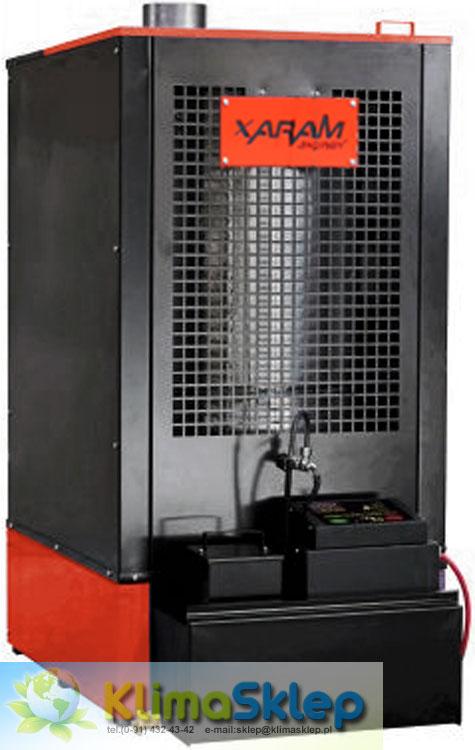 Nagrzewnica na olej uniwersalny Xaram Energy XE 52 R + regulator + łopatka + stal