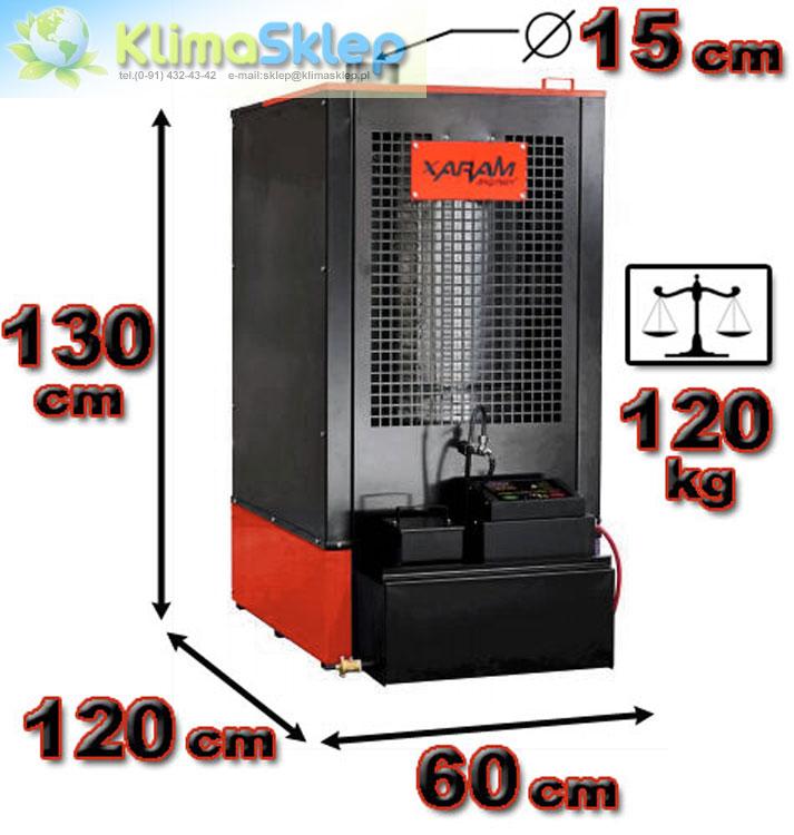 Xaram Energy XE 8-30 - front urządzenia