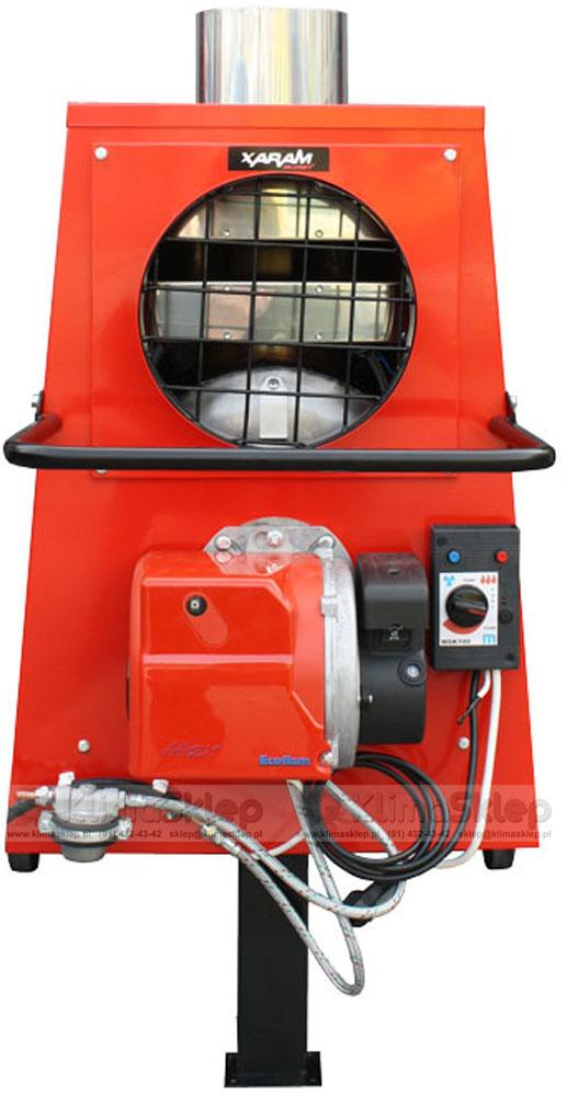 XARAM ENERGY P40Z - przód nagrzewnicy