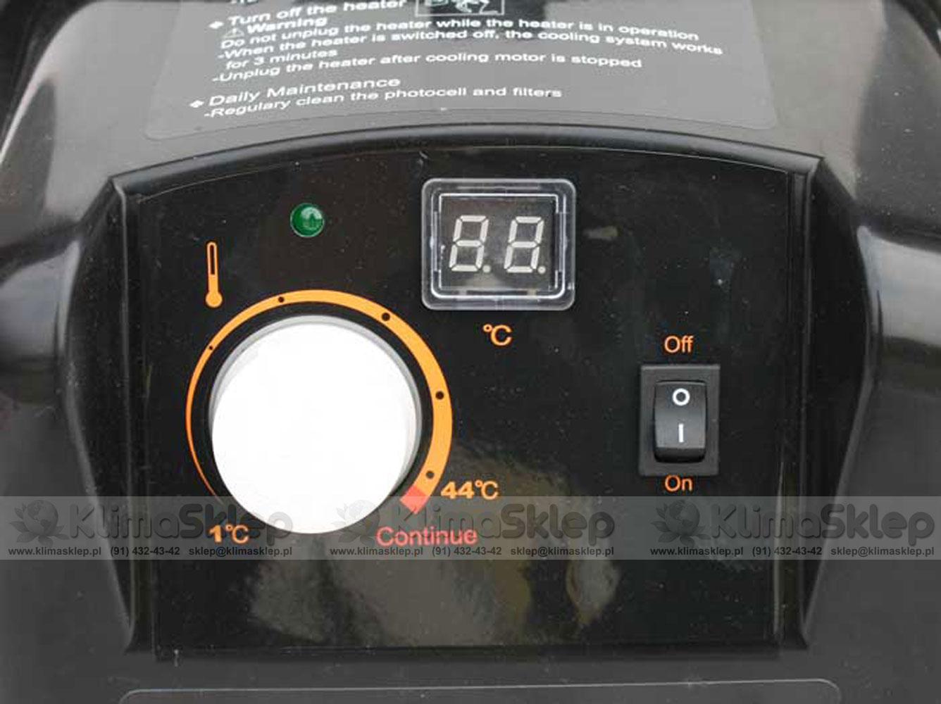 XARAM ENERGY SF-1 TK - panel sterowania