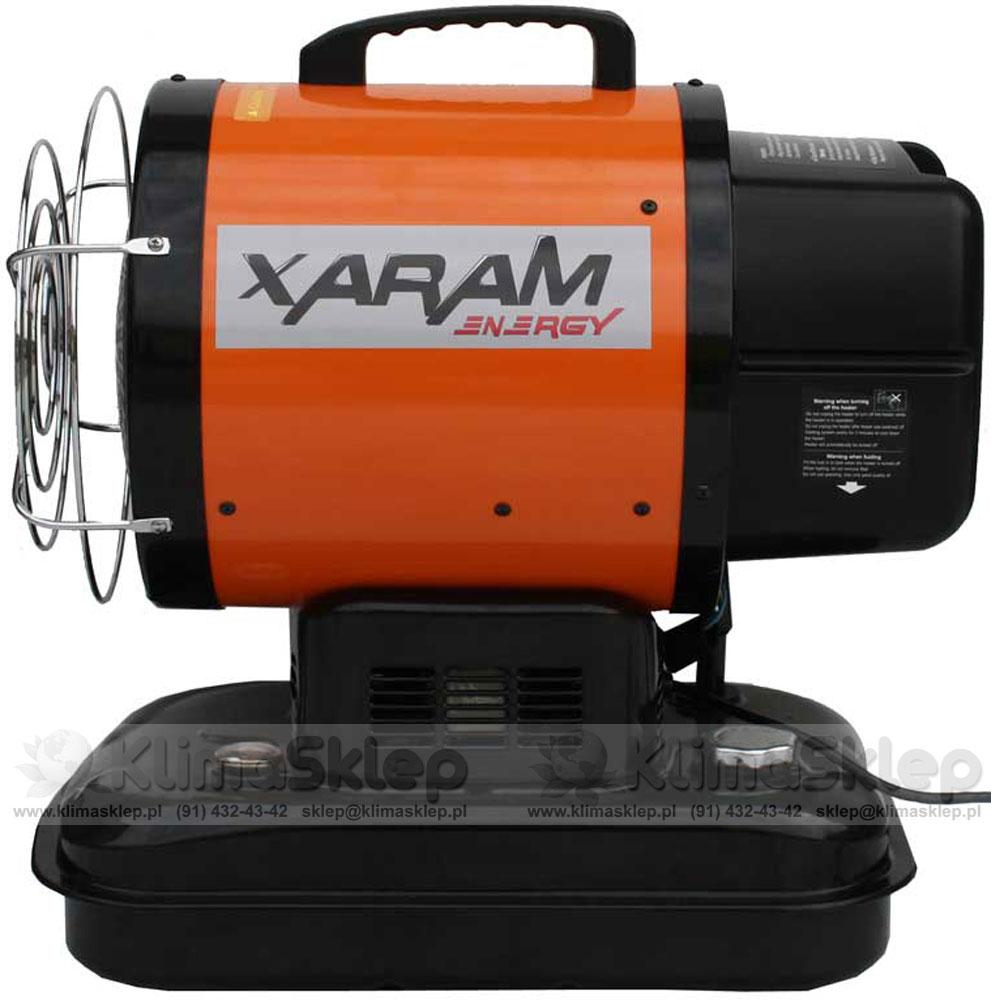 Promiennik olejowy XARAM ENERGY SF 1 TK - widok z boku